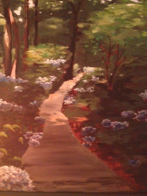 Sun-Dappled Path, Collette Caprara