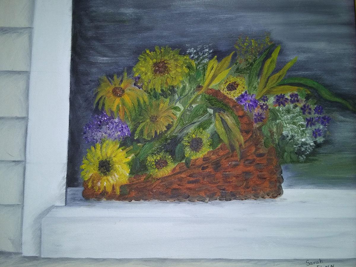 """""""Sunflowers"""", by Sarah Flinn"""