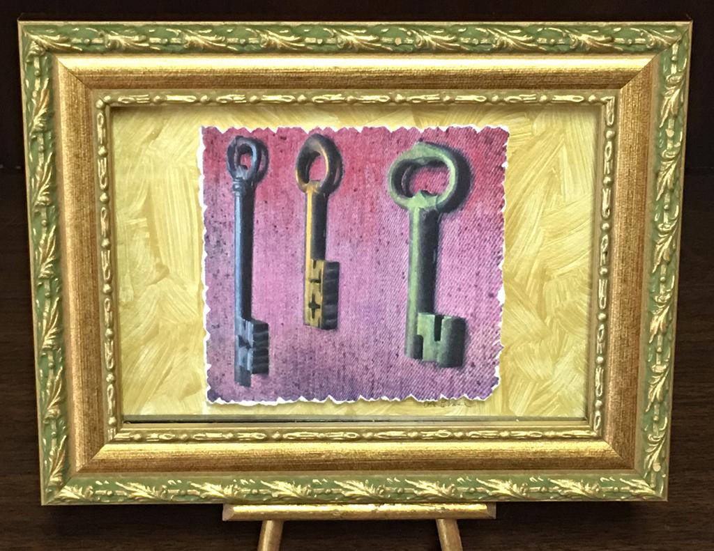 """""""Keys to the  Bastille,"""""""