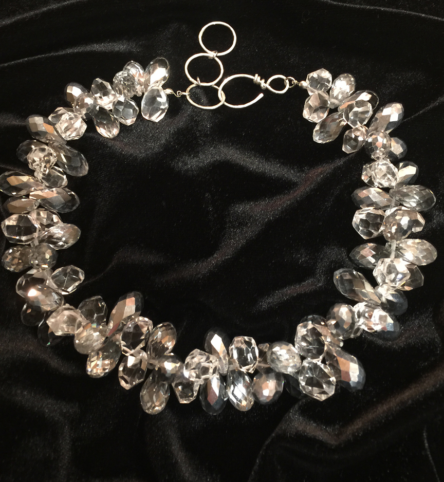 Crystal Necklace, Michele Milano