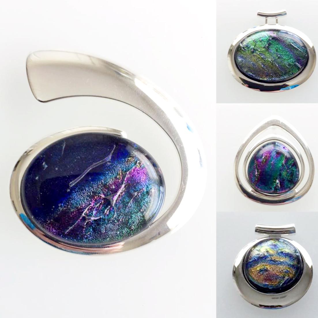 Silver Necklace, Lisa Gillen