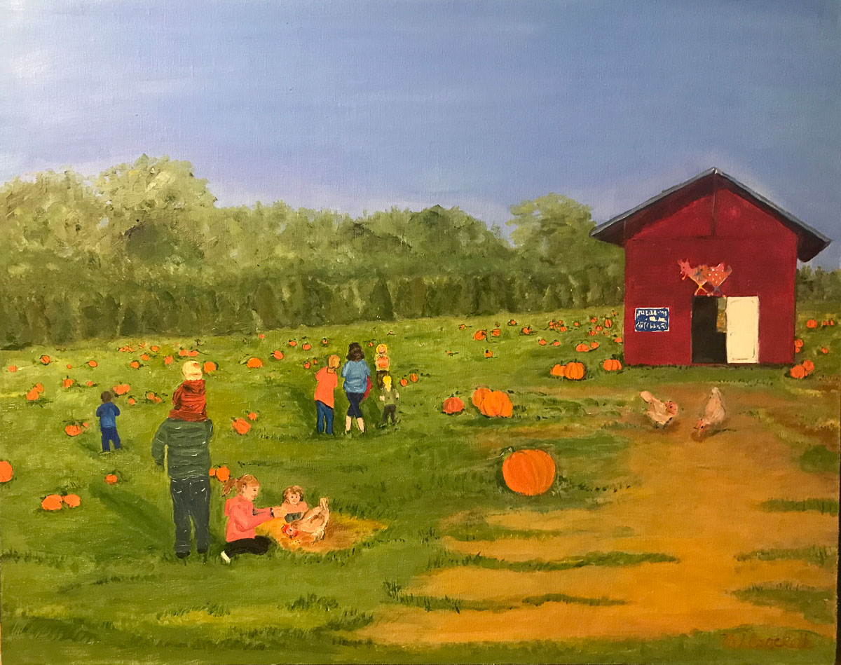 """Snead's Pumpkin Patch"" by Megan Lee Crockett"