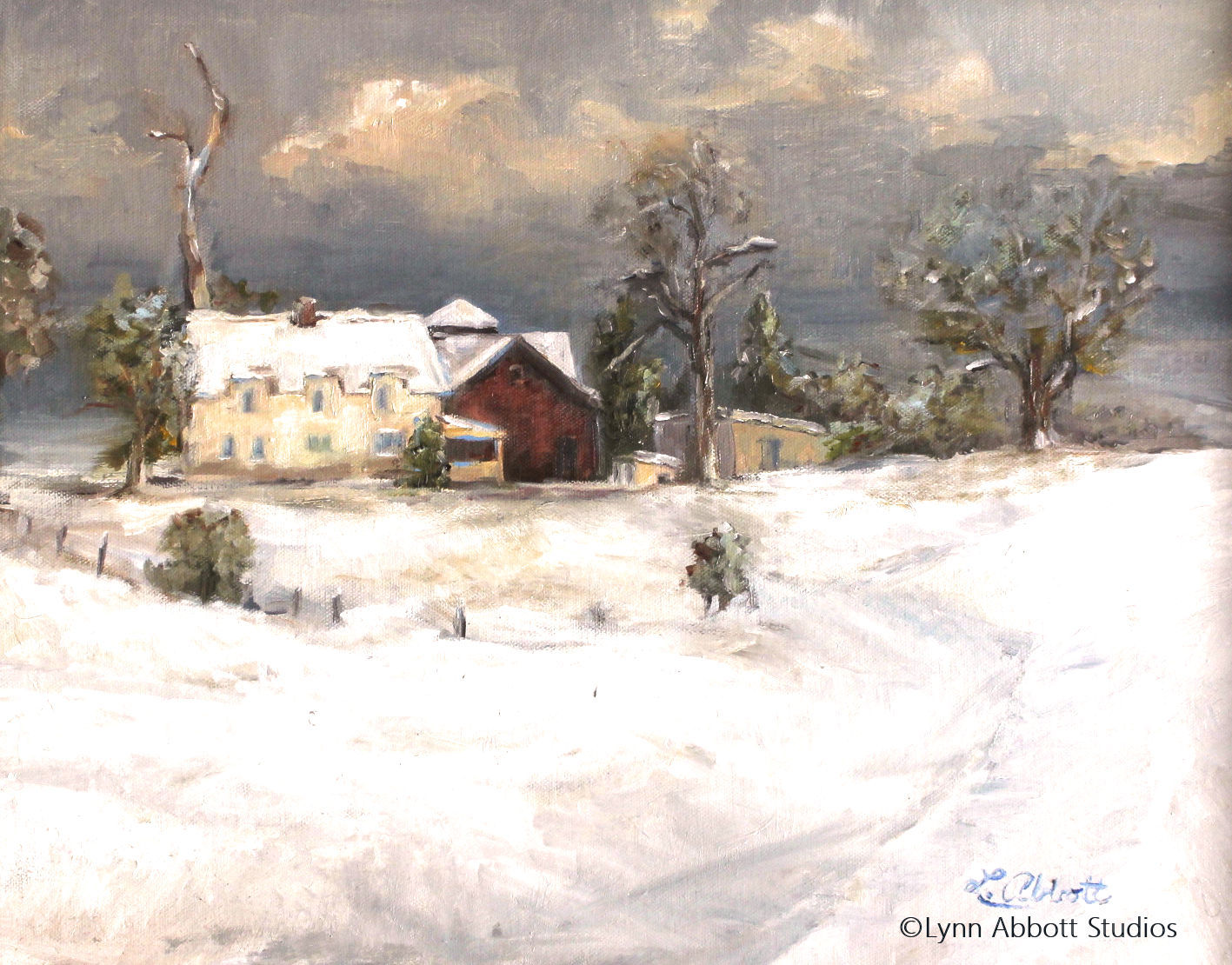 First Snow, Lynn Abbott