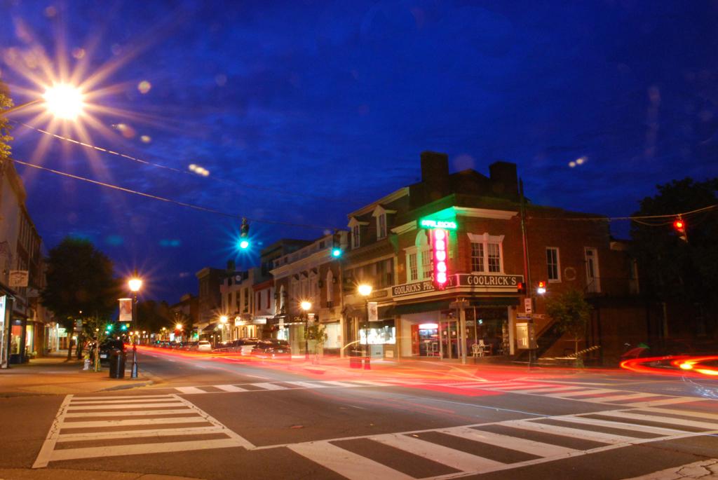 Caroline Street at Night, Penny A Parrish