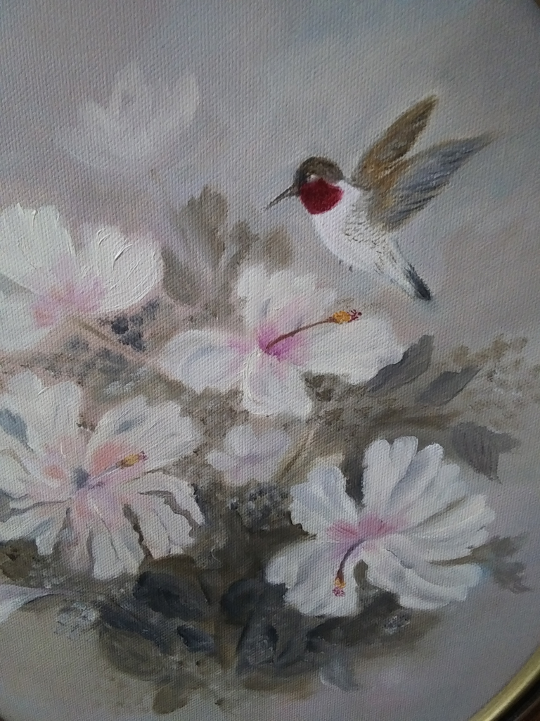 """Hummingbird,"" by Sarah Flinn."
