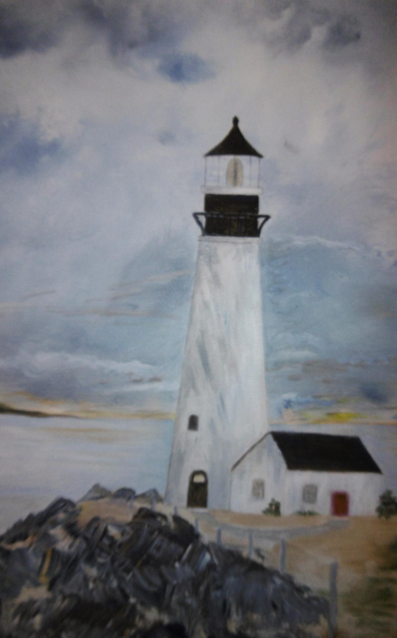 Northeast Lighthouse, Sara Flinn