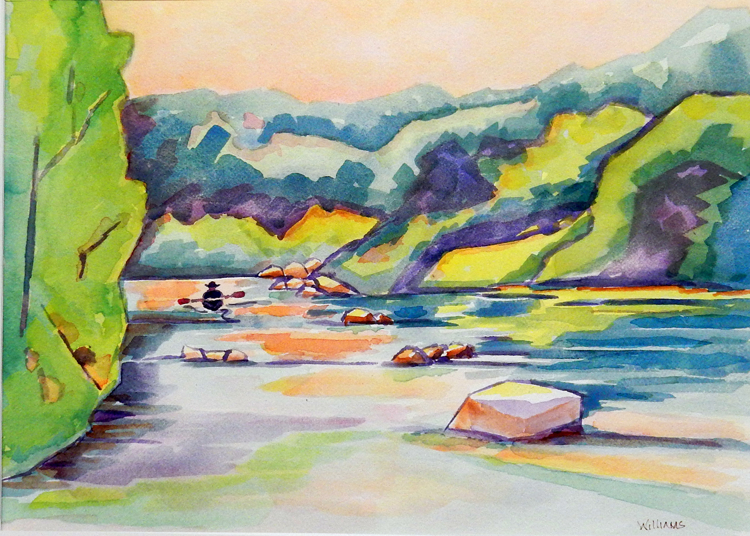 A Paddler's Bliss, Nancy Williams