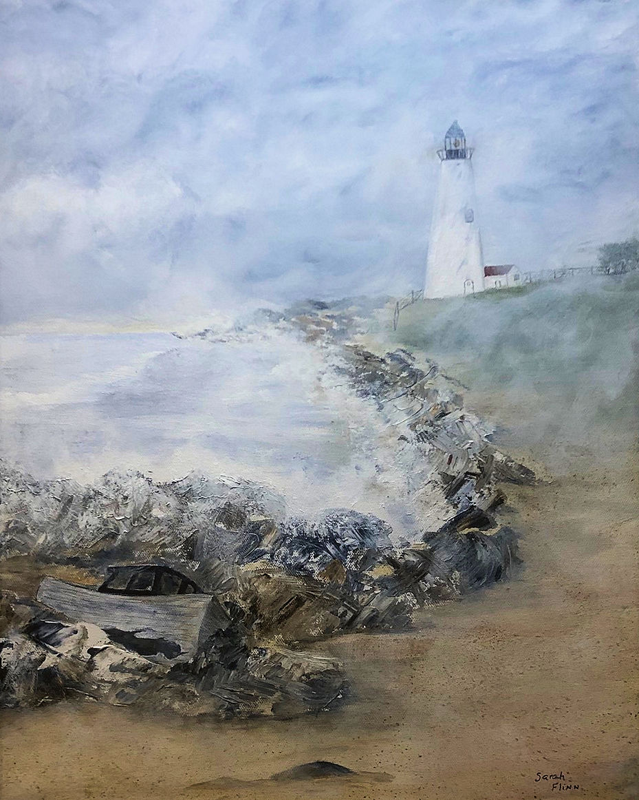 """Shipwreck,"" by Sarah Flinn."