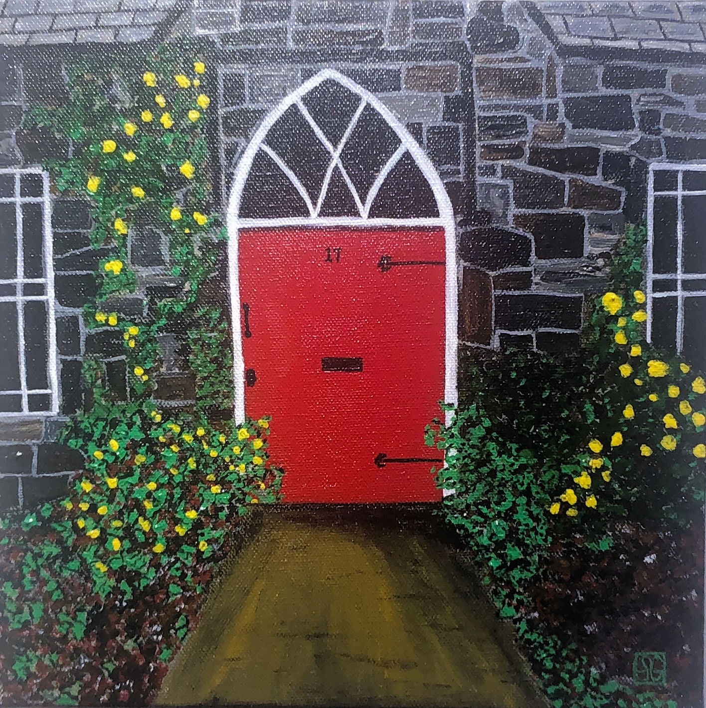 """Dublin Door,"" by Stacy Gaglio."
