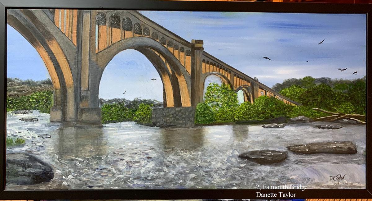 """""""Falmouth Bridge"""" by Danette Taylor"""