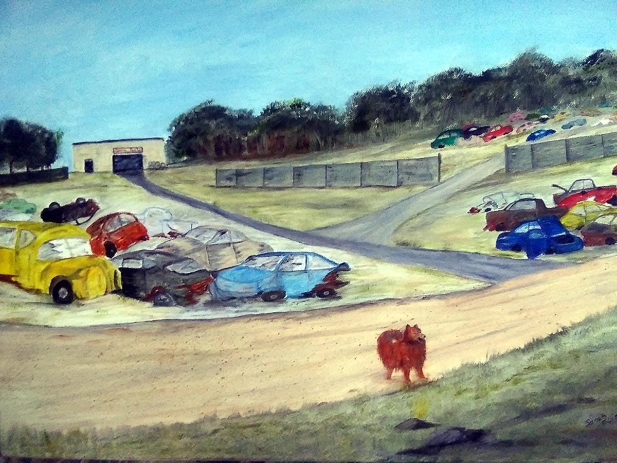 """The Junkyard"" by Sarah Flinn"