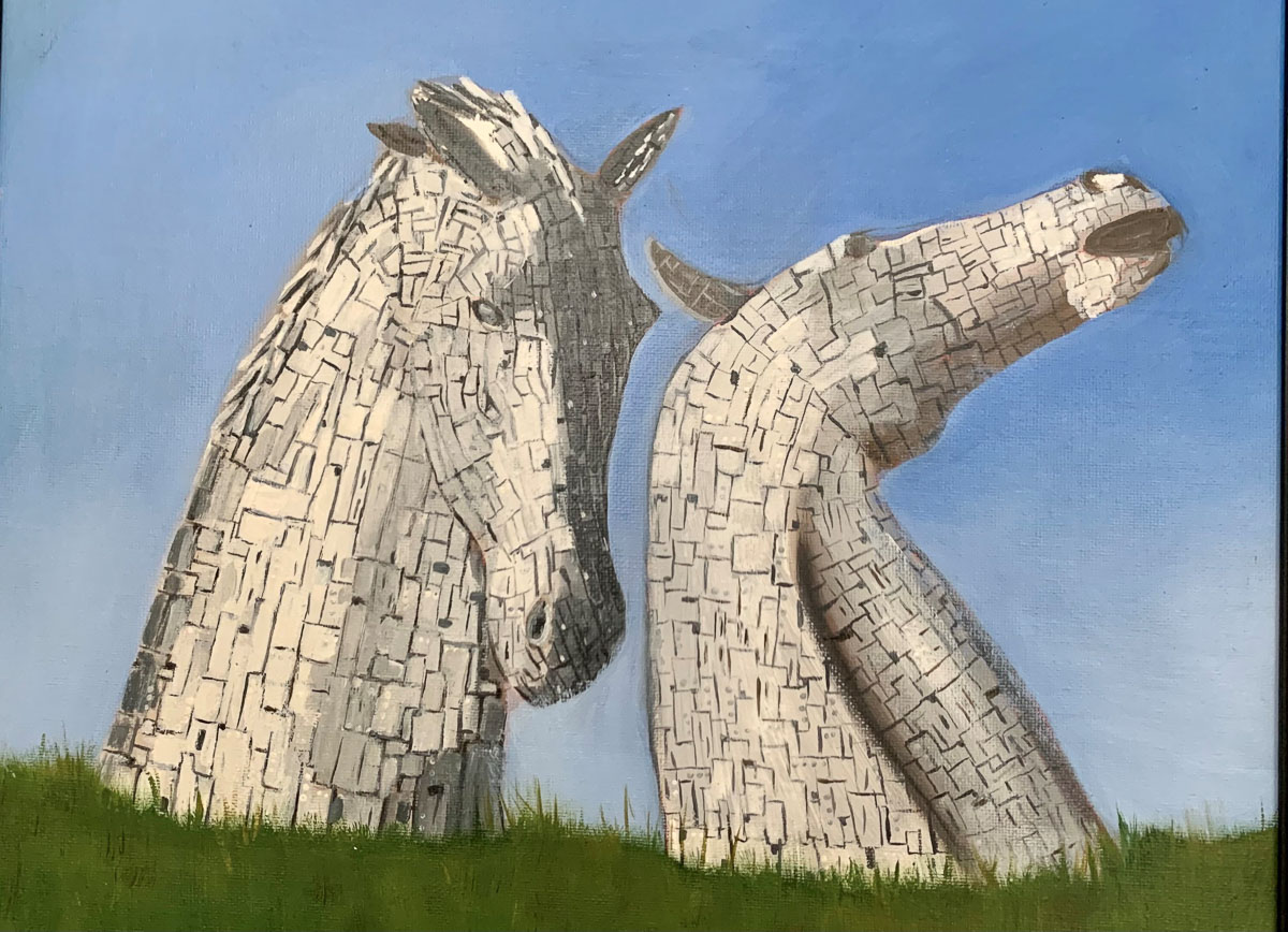 """The Kelpies"" by Danette Taylor"