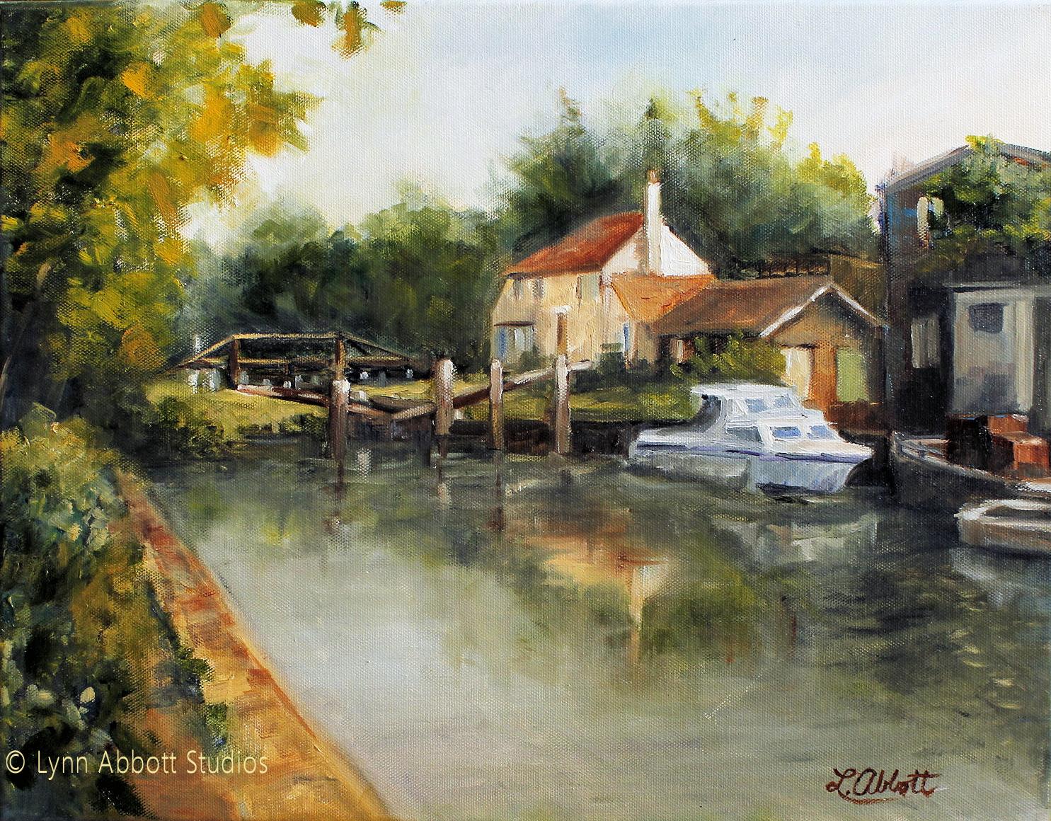 Lock-Keeper's Cottage, Lynn Abbott
