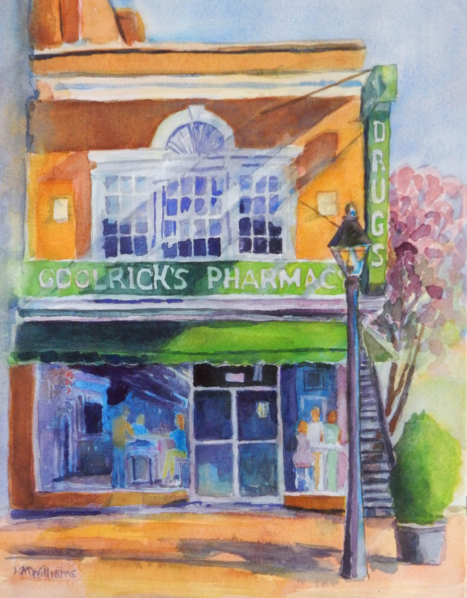 """Meet Me at Goolrick's"", by Nancy Marie Williams"