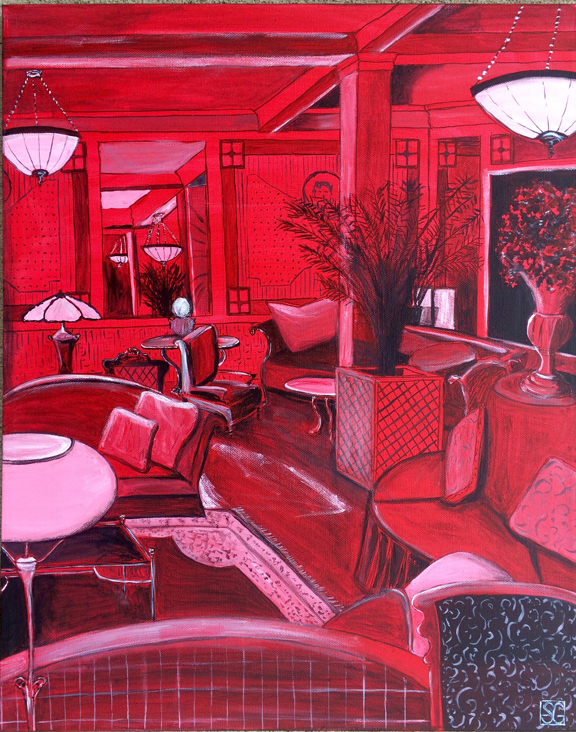 Red Room, Stacy Gaglio