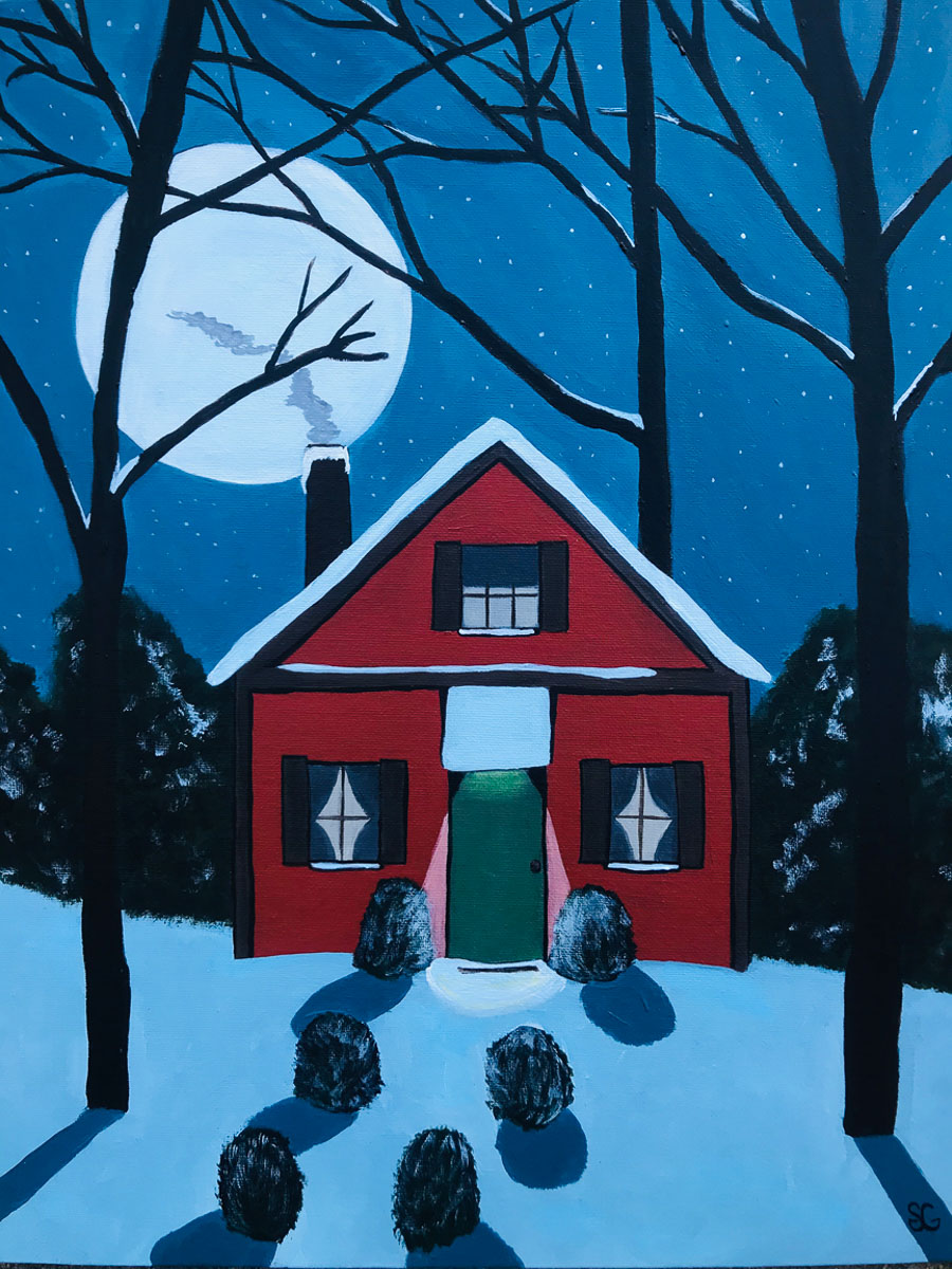 """Silent Night"" by Stacy Gaglio"