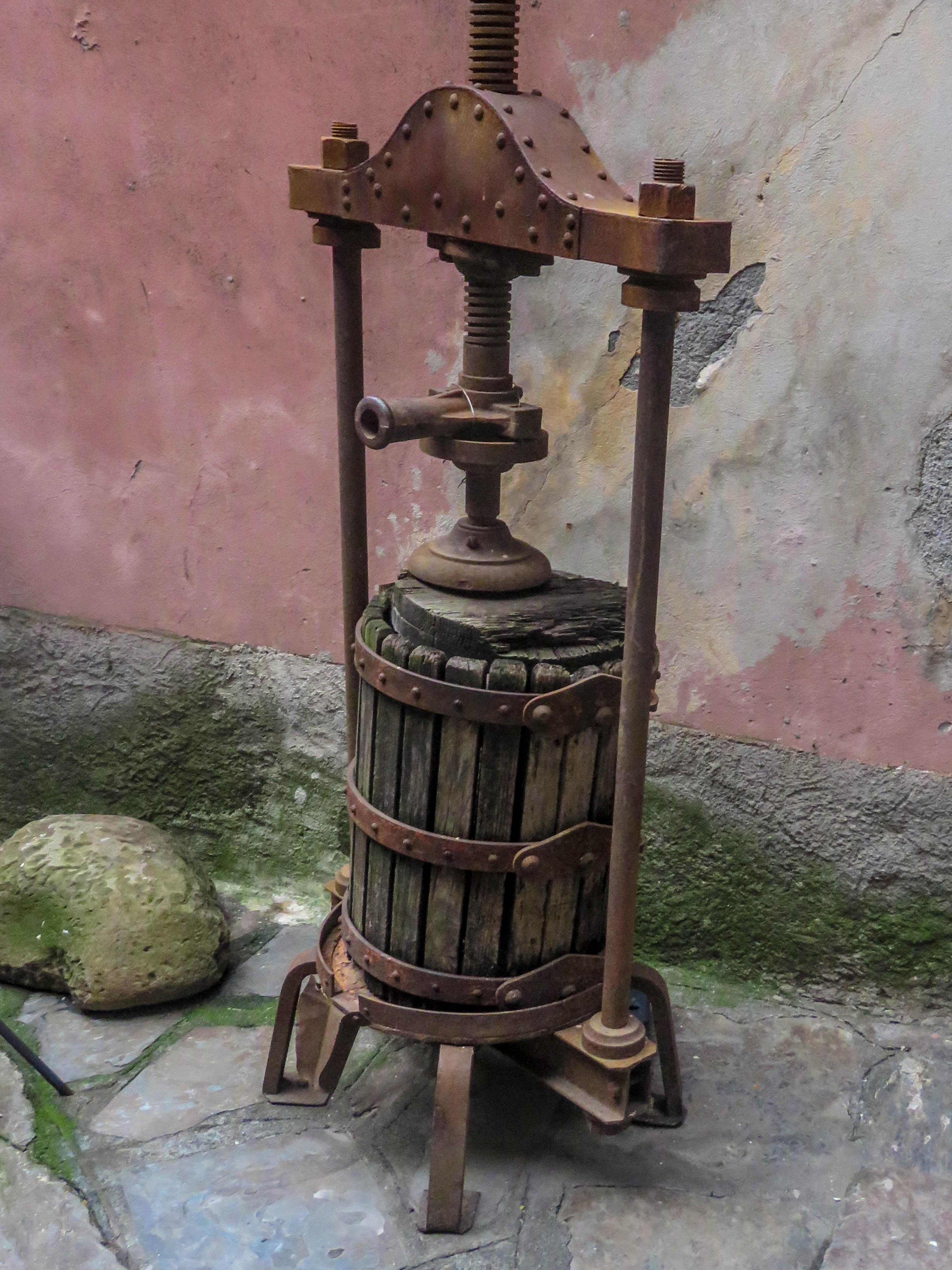 Wine Press, Penny A Parrish