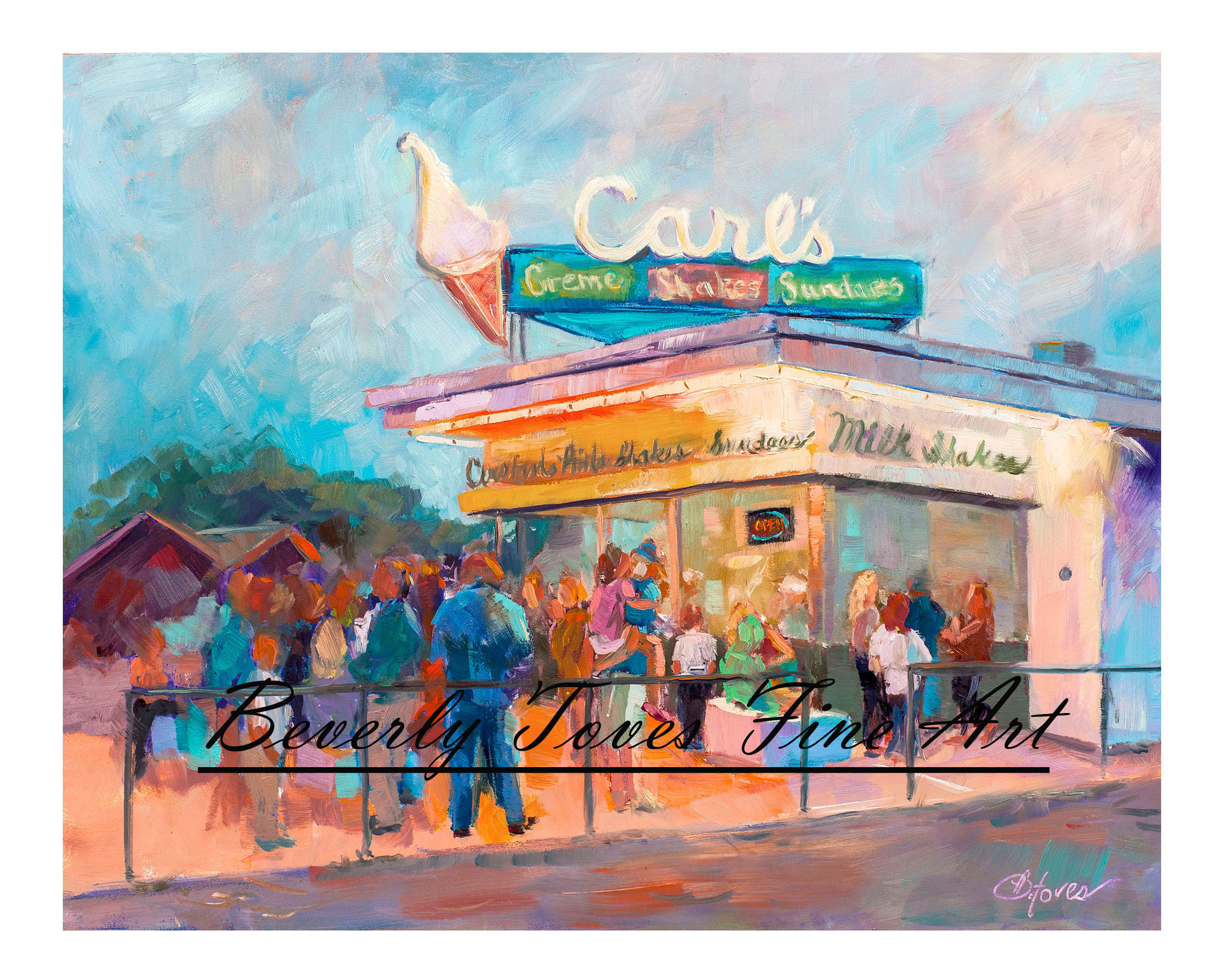 """Carl's,"" by Beverly Toves."