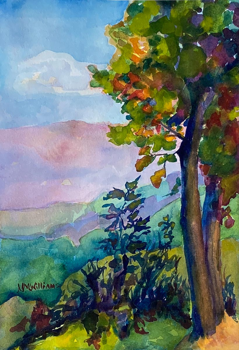 """Overlook-Early Fall"" by Nancy Marie Williams"