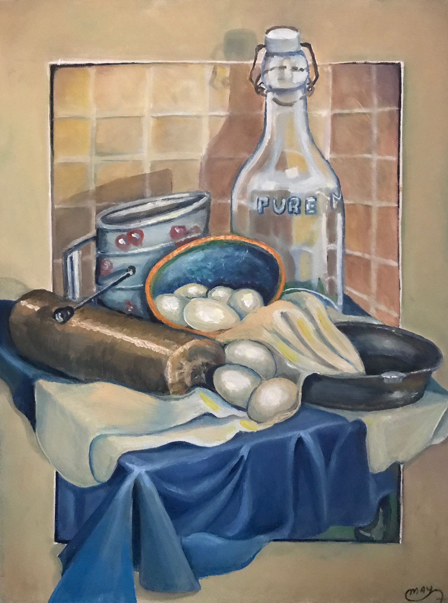 May Shorten Townley- Baking Day