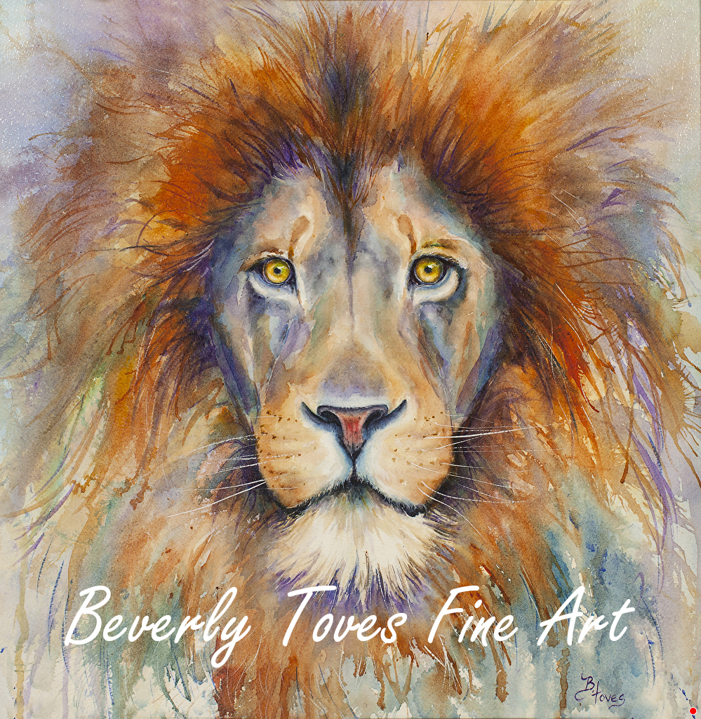 """Aslan,"" by Beverly Toves."
