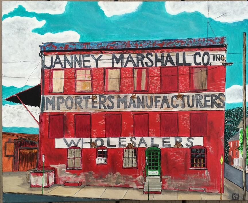 Janney Marshall, Stacy Gaglio