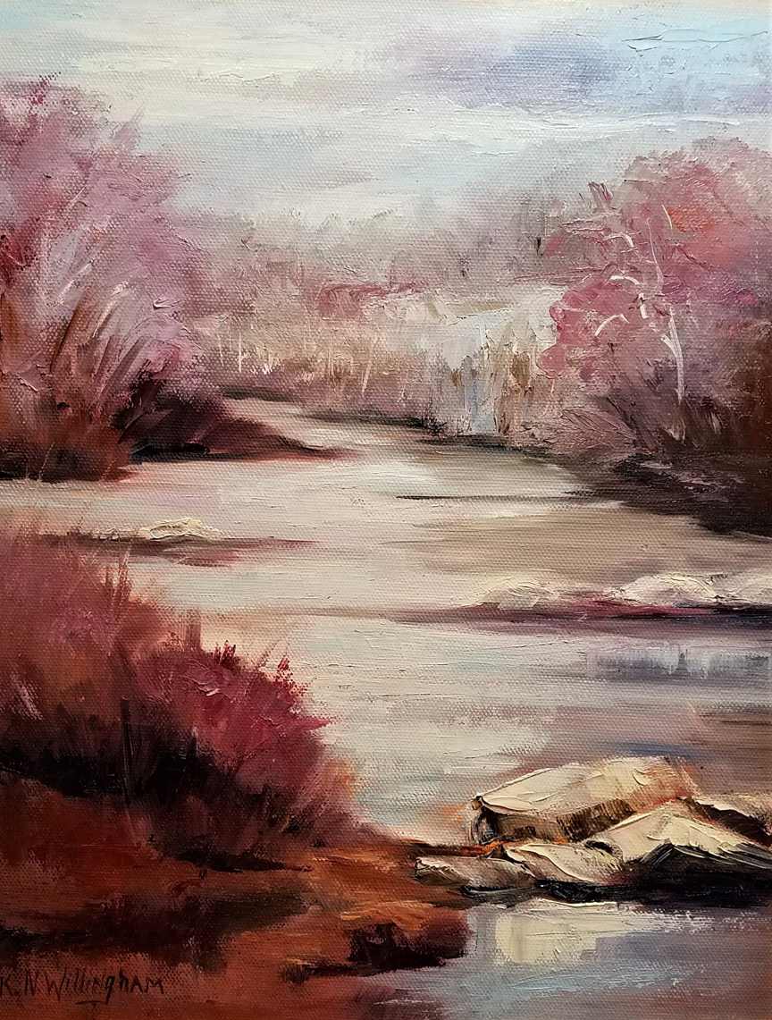 """Rappahannock at Fall,"" by Kathleen Willingham."