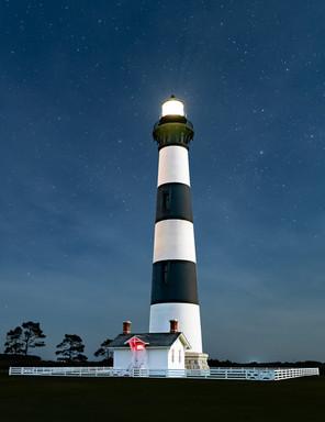 Bodie Light at Night