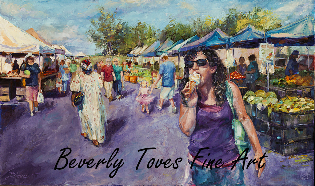 """Summertime Delight,"" by Beverly Toves."