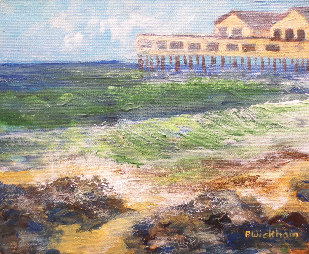 The Old Pier, Peggy Wickham