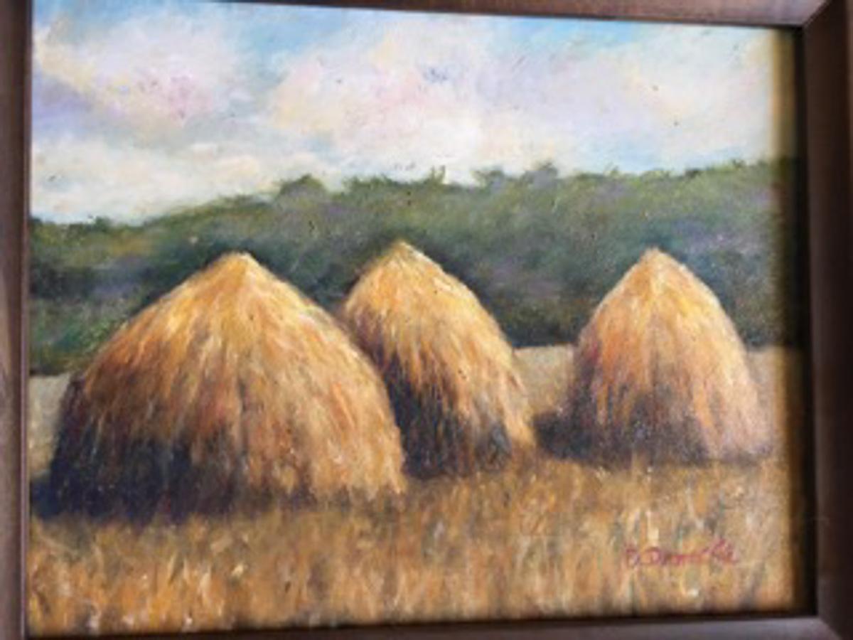 """Haystacks"" by Denise Denecke"