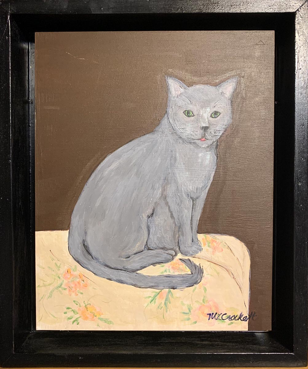 """Earl Gray (cat)"" by Megan Lee Crockett"