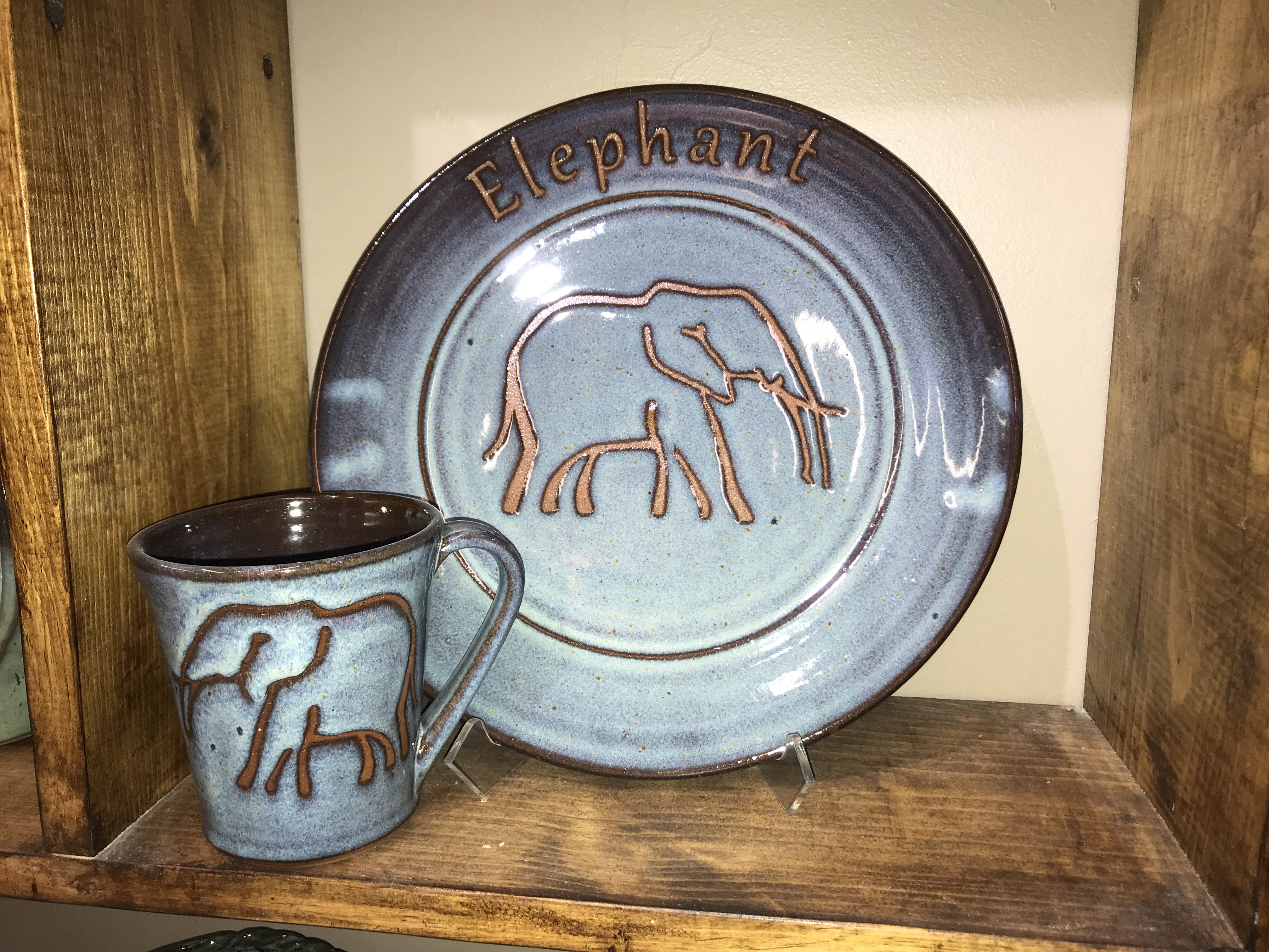 Elephants by Elizabeth Freeman