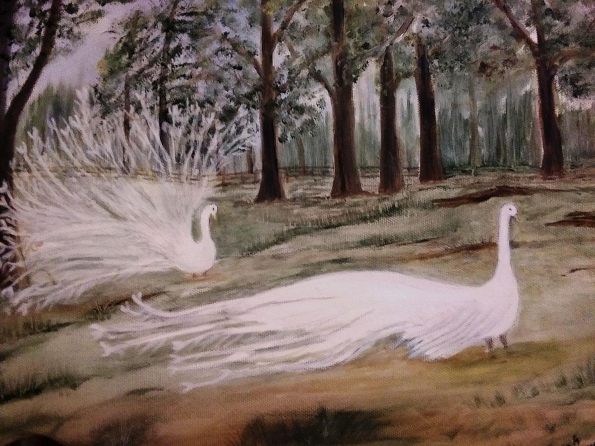 White Peacocks by Sarah Flinn