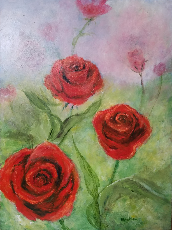 Red Roses, Peggy Wickham