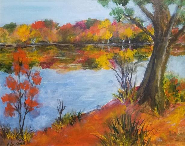 Rappahannock In Fall, Peggy Wickham
