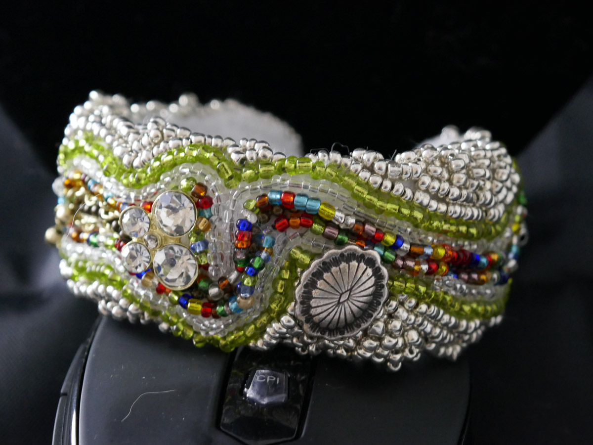 """Cuff Bracelet (1-inch),"" by Liana Pivirotto."