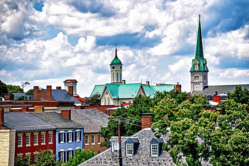 Fredericksburg View, Norma Woodward