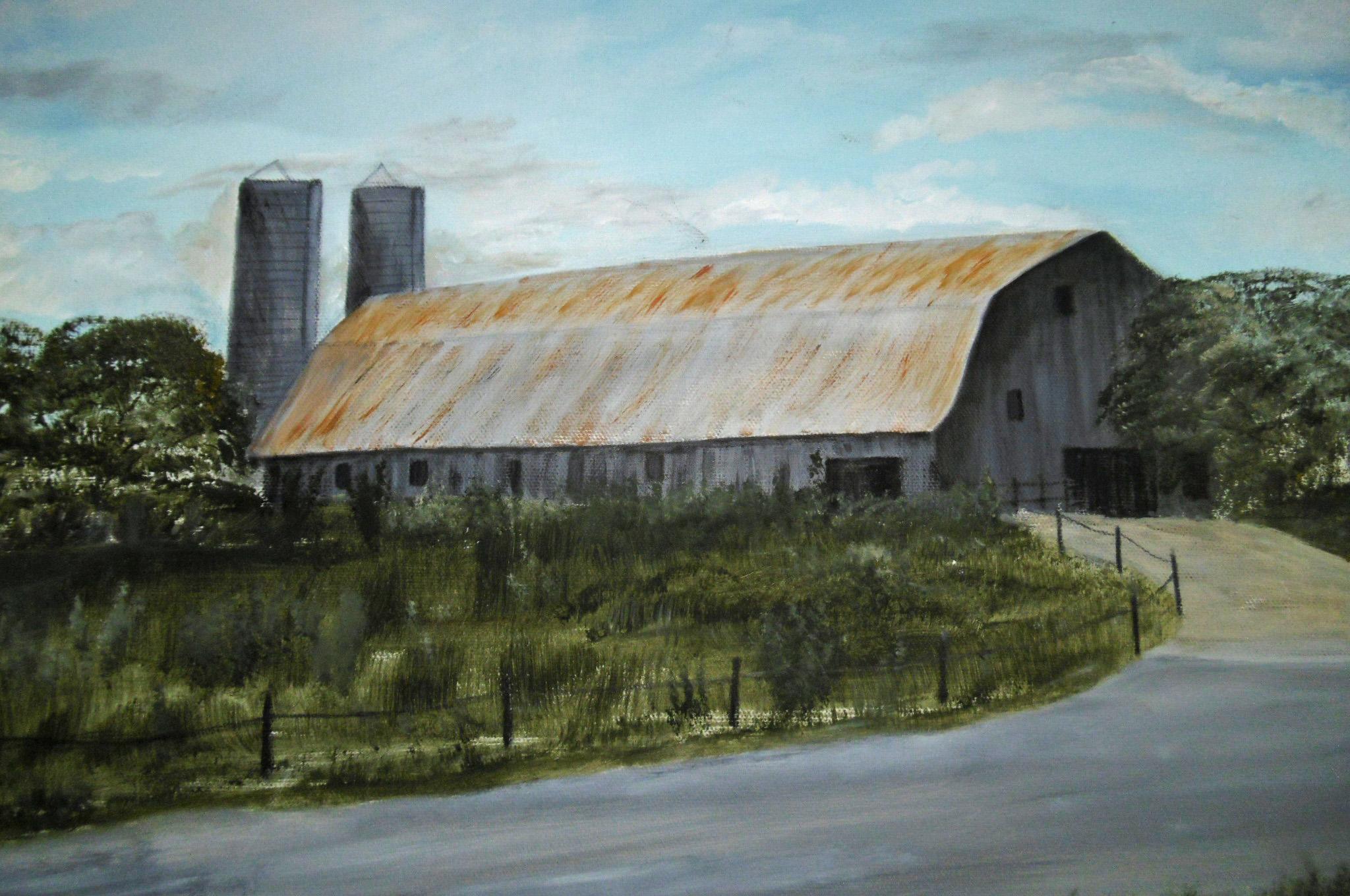 Old Barn on I-95, Sarah Flinn