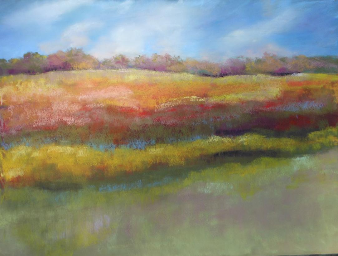 Fall Bean Field, K.Willingham