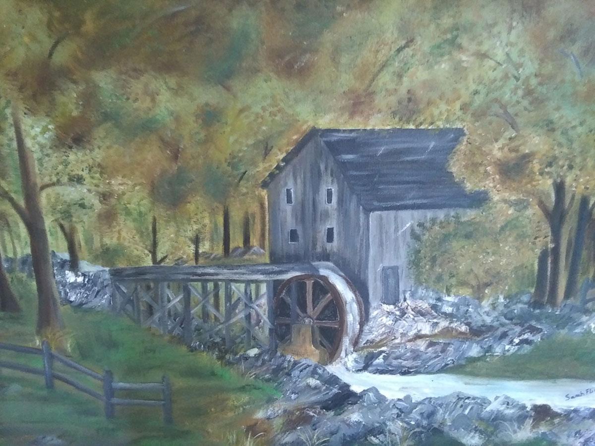"""""""The Grist Mill"""", by Sarah Flinn"""
