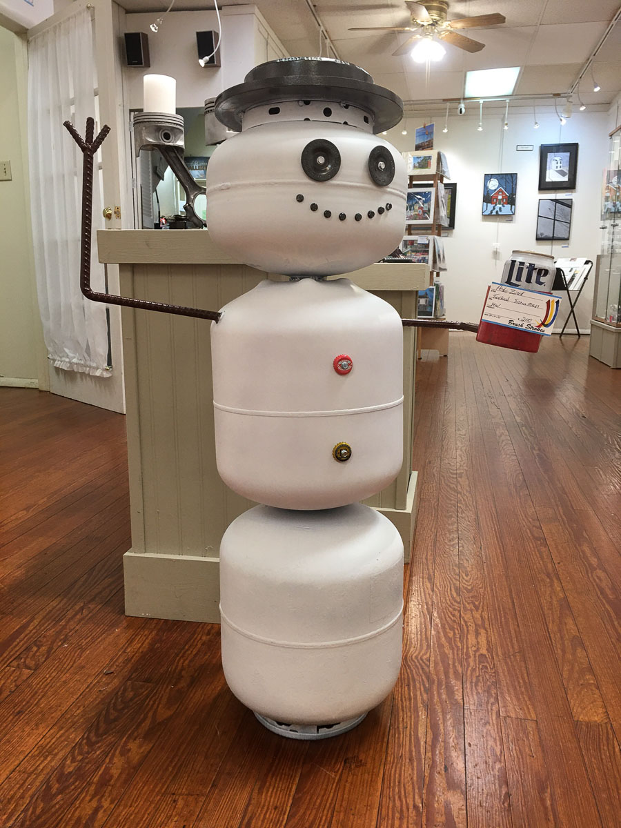 """""""Snowman"""" by Pete Zinck"""