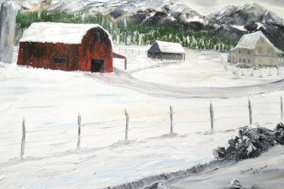 """Country Home"" by Sarah Flinn"