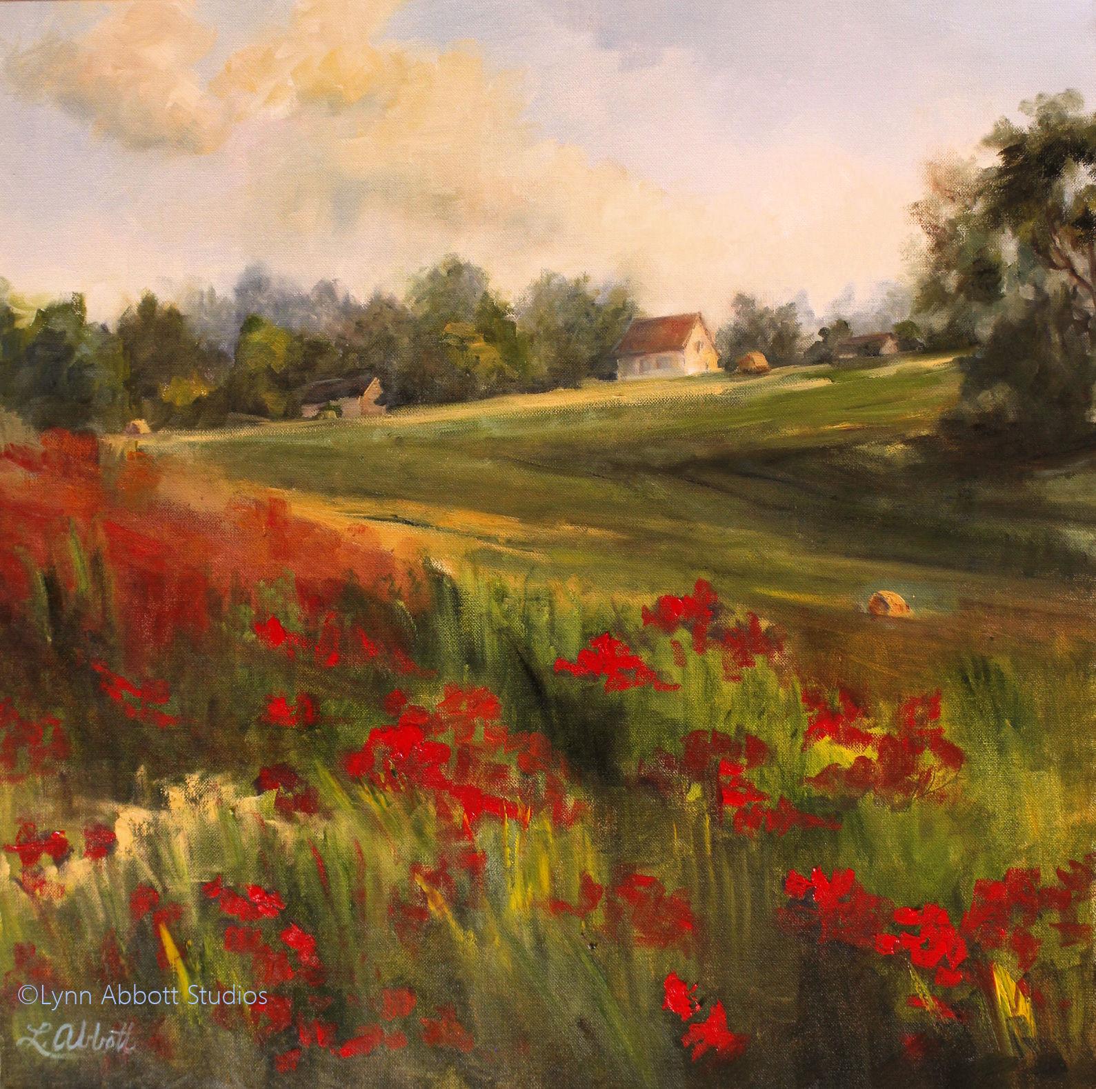 Poppies Forever, Lynn Abbott