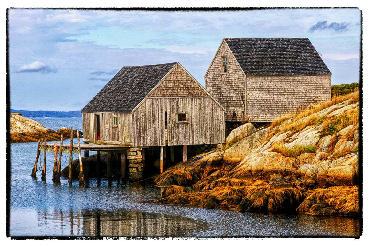 """Peggy's Cove"" by Norma Woodward"