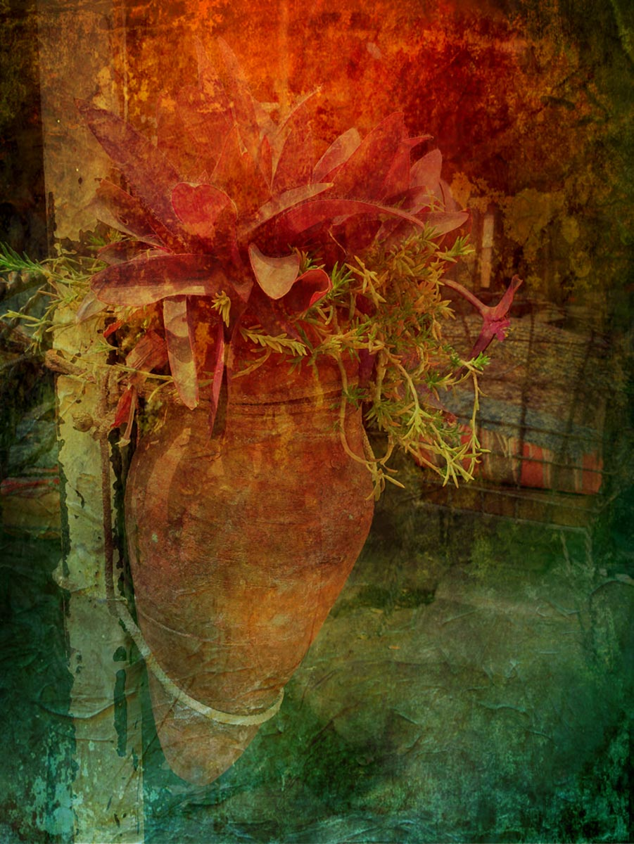 """""""Terra Cotta Bloom"""", by Penny A Parrish"""