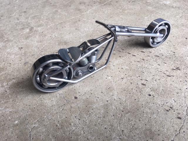 Motor Cycle, Pete Zinck