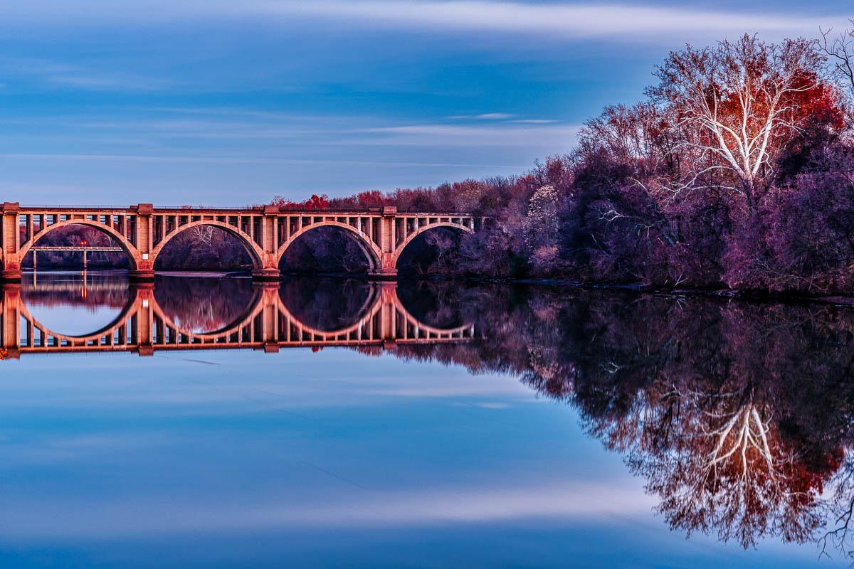 """RF&P Railroad Bridge"" by Buddy Lauer"