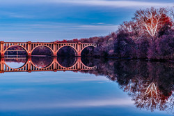 """RF&P Railroad Bridge"" by Buddy Lauer"