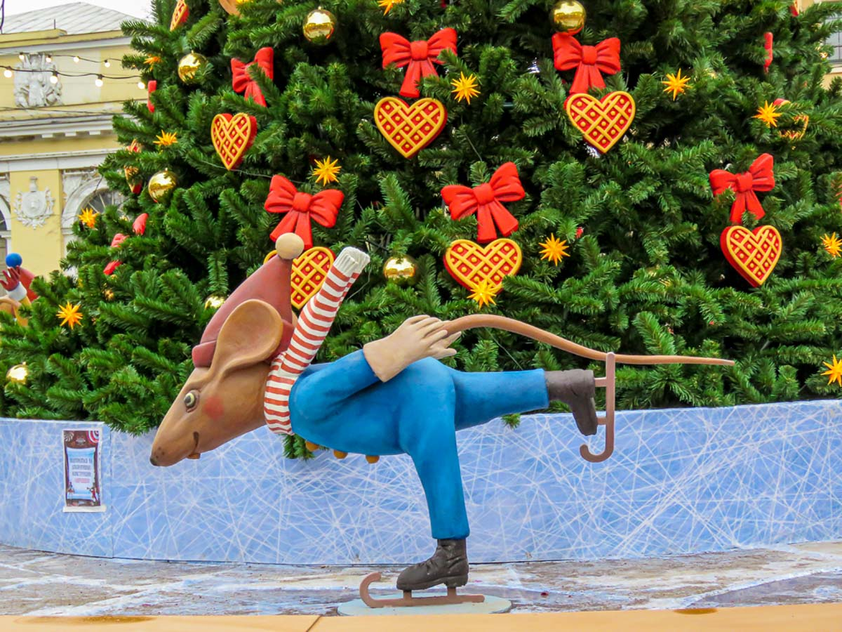 """""""Skating  Mouse"""" by Penny A Parrish"""